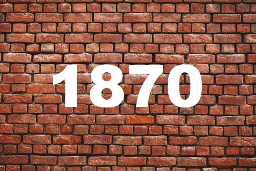 Brick Wall 1870